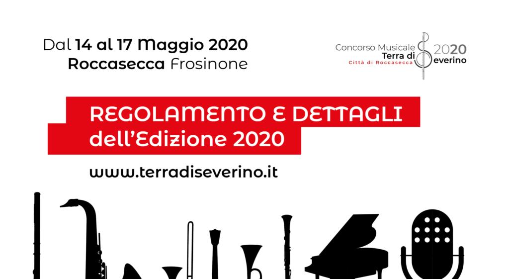 Edizione 2020 • Tutte le informazioni ed i moduli